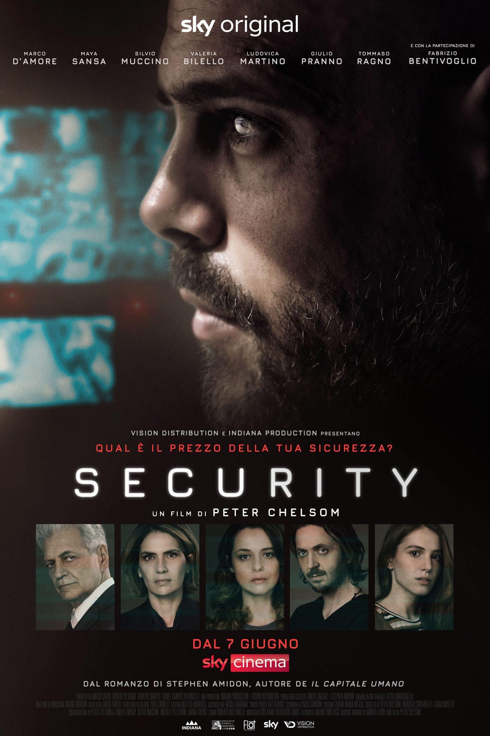 Segurança Filme Netflix Crítica Pôster